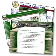 Government and Municipal Website Design and Website Redesign
